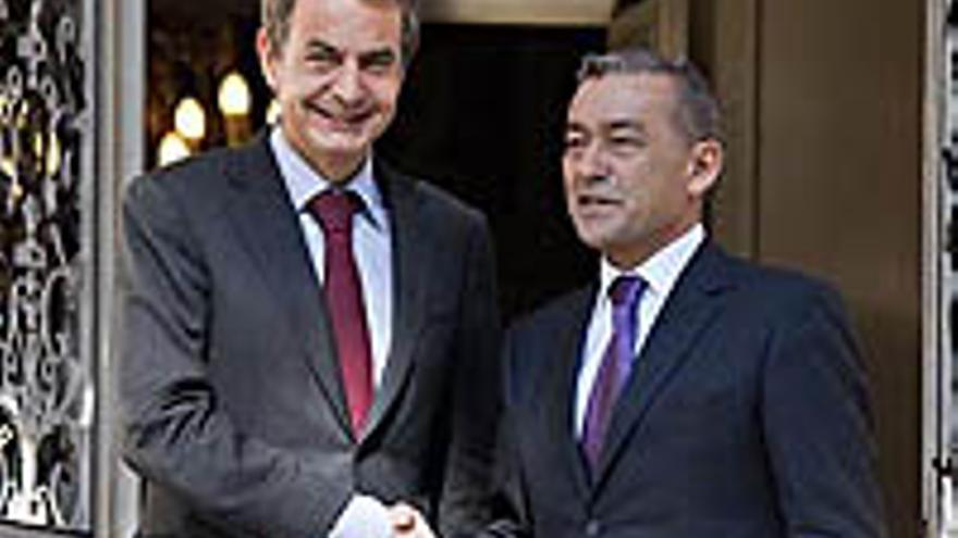Zapatero y Rivero.
