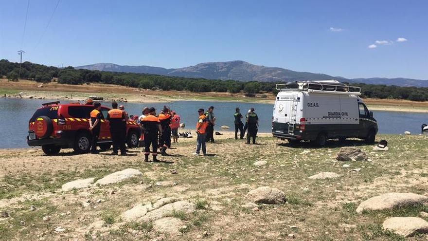 Mueren los dos ocupantes del helicóptero estrellado en Valmayor (Madrid)