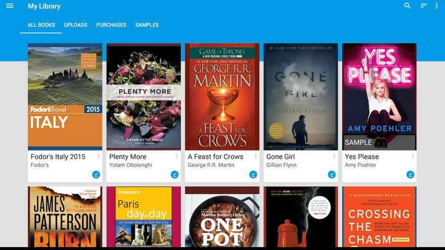 Aplicación 'Google Play Books'