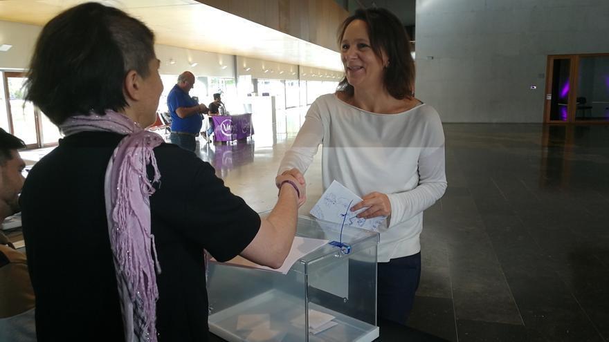 Carolina Bescansa dejará el escaño en el Congreso cuando concluyan las comisiones parlamentarias en las que participa