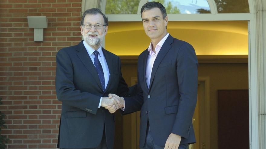 """Sánchez: """"Yo era el que iba a romper el PSOE y España y aquí estamos, echando una mano al presidente del Gobierno"""""""
