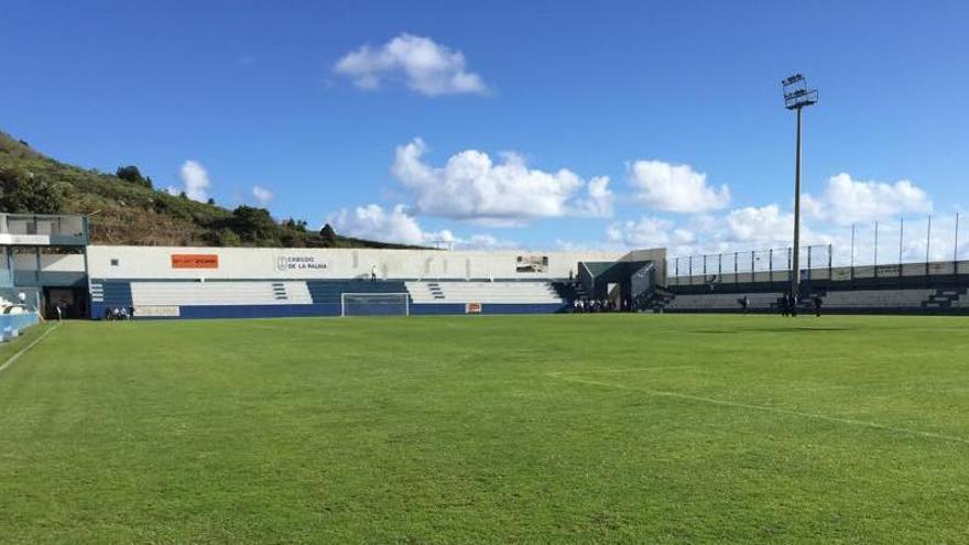 Estadio Virgen de Las Nieves.