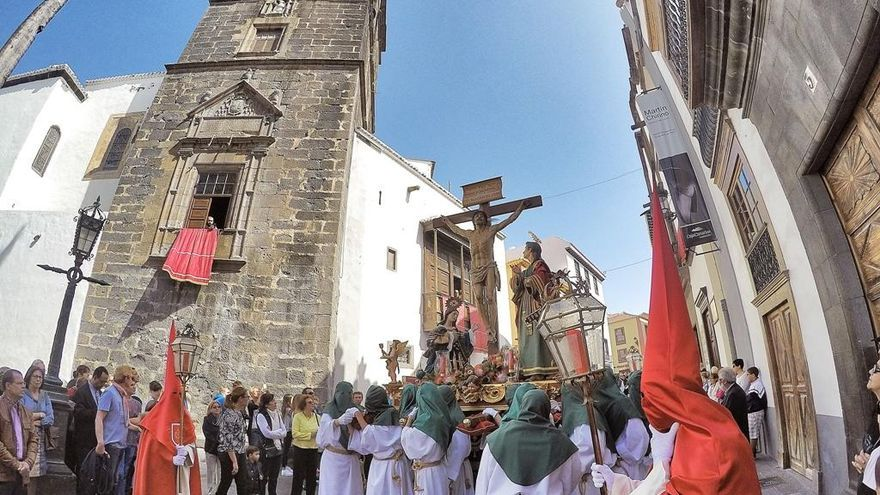 Imagen de la Semana Santa de Santa Cruz de La Palma. Foto: José Vicente Álvarez Lorenzo (Fotocofrade 2016).