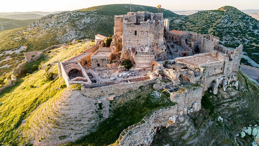 El castillo de Calatrava La Nueva FOTO: Portal Cultural Castilla-La Mancha