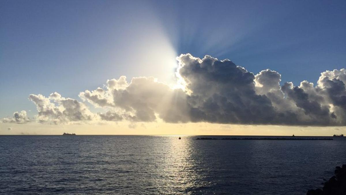 Amanecer en Canarias