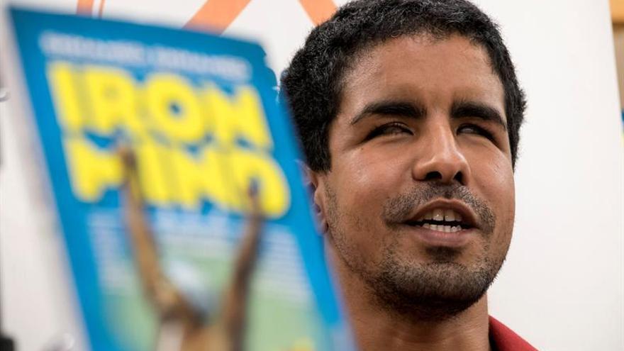 El nadador grancanario Enhamed Enhamed, cuatro veces campeón paralímpico