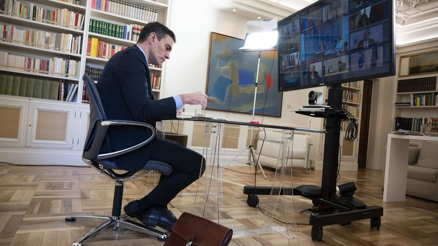 Sánchez asistirá a una cumbre telemática europea con Kosovo, pero sin banderas, símbolos ni cargos