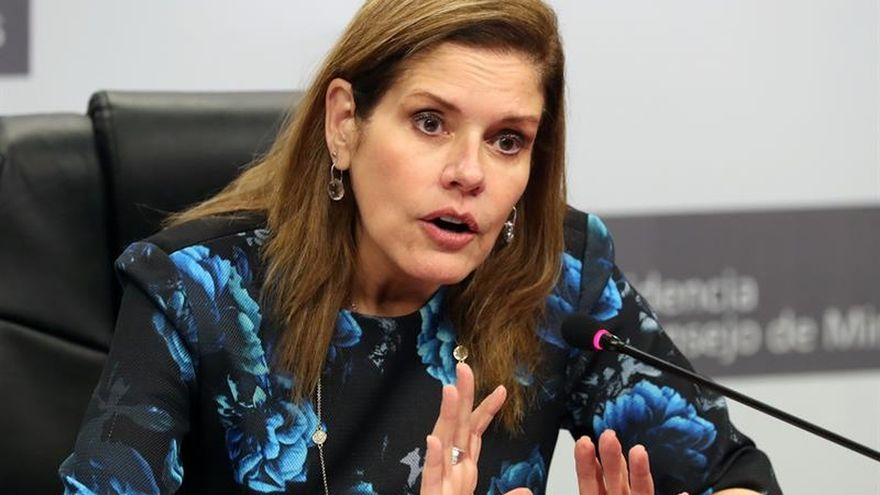 El nuevo gabinete de Perú estará listo próxima semana, anuncia la primera ministra