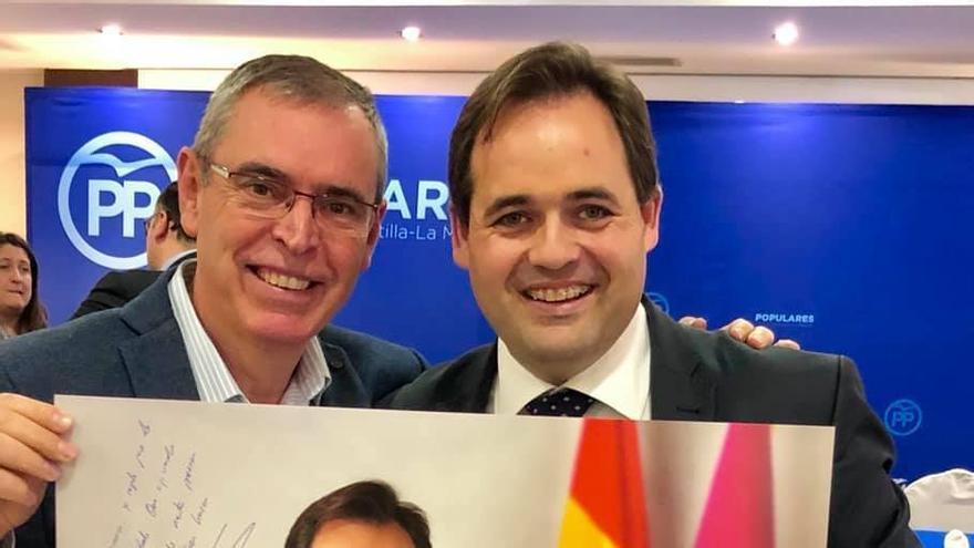 Foto: Facebook Vicente Aroca, presidente del PP de Albacete