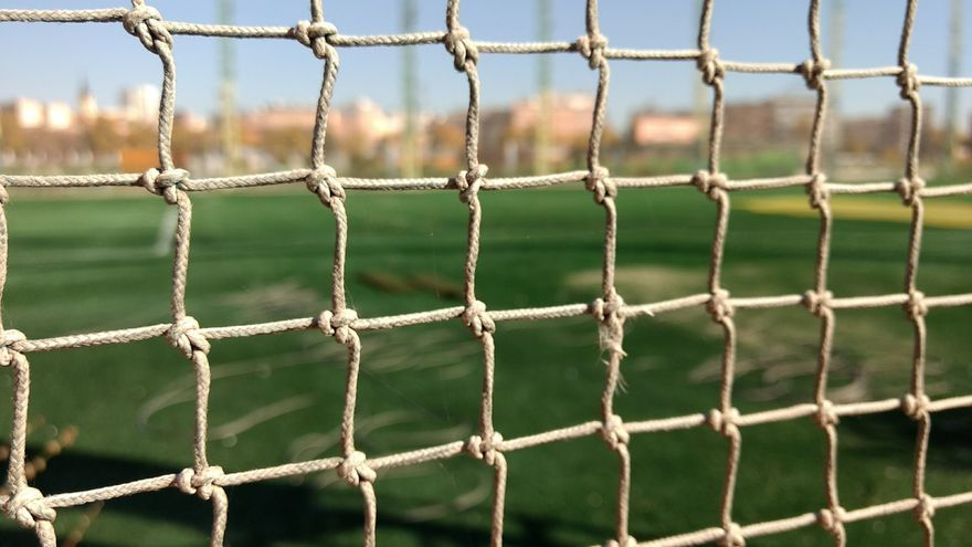 Campo de golf del Canal, ya sin uso   SOMOS CHAMBERÍ