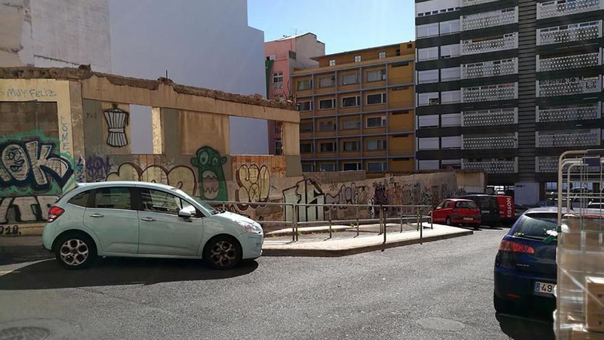 Solar en el que se encontraba el edificio Imperial, Santa Cruz de Tenerife.