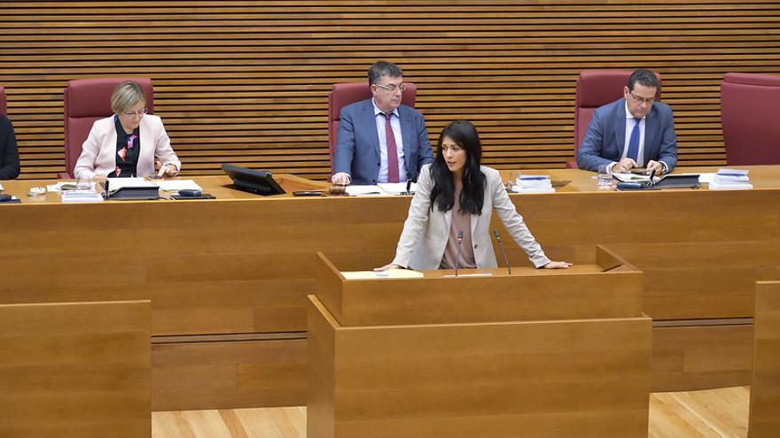 Naiara Davó, síndica de Unides Podem en las Corts