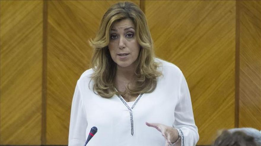 """Díaz dice que Andalucía colaborará con el Gobierno """"en un nuevo proyecto de país"""""""