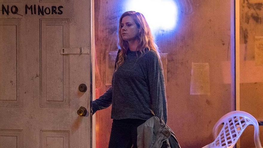 Imagen promocional de la serie 'Sharp objects', de HBO, con Amy Adams como protagonista