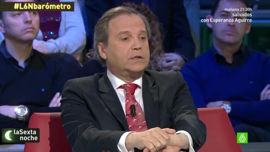 Antonio Miguel Carmona en el programa La Sexta Noche