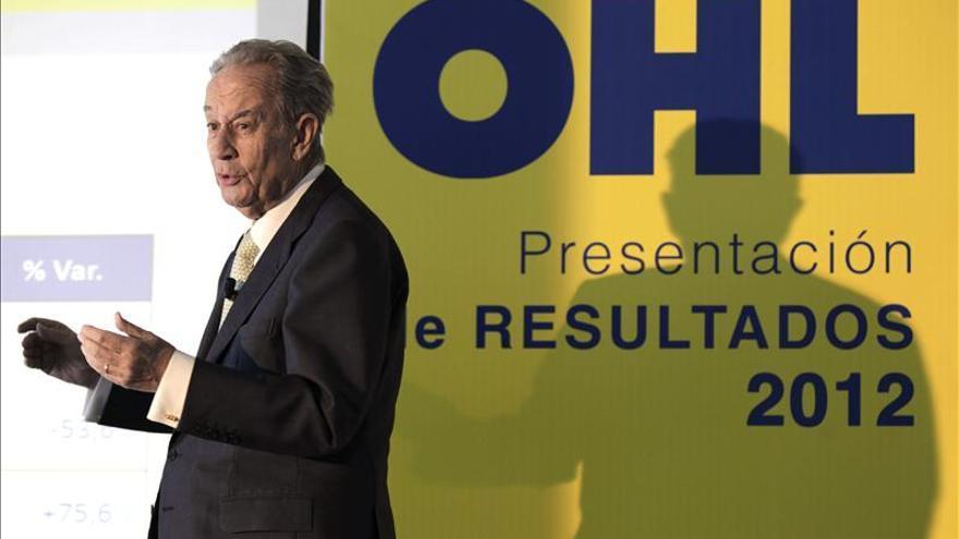 OHL gana 87,5 millones hasta septiembre, el 41 % menos