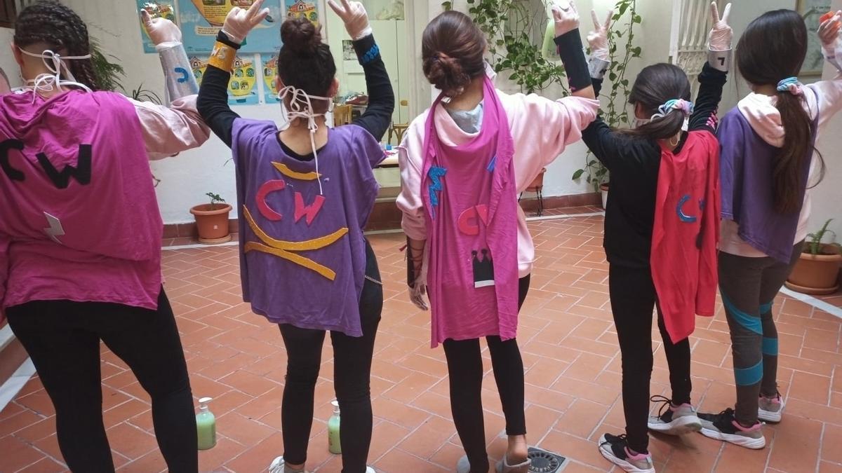Menores en centros de acogida del Instituto Andaluz de la Mujer