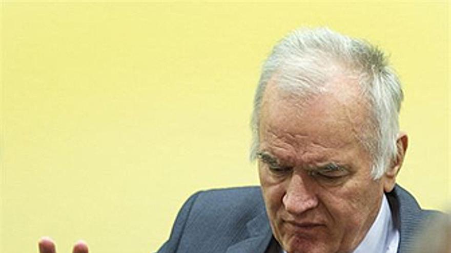 Ratko Mladic. (REUTERS/EP)