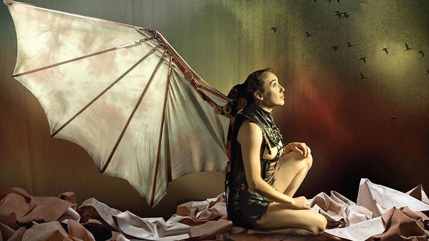 La puesta en escena 'Vuelos', de la compañía Aracaladanza