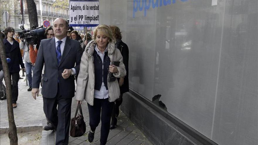 Aguirre aseguró en su declaración que no sabía quién era Francisco Correa