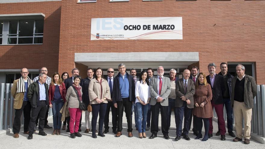 Inaugurado oficialmente el instituto '8 de Marzo'