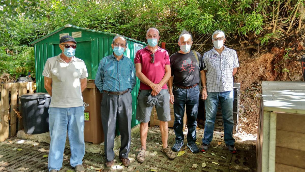 Visita a la Compostera Comunitaria de Puntallana.