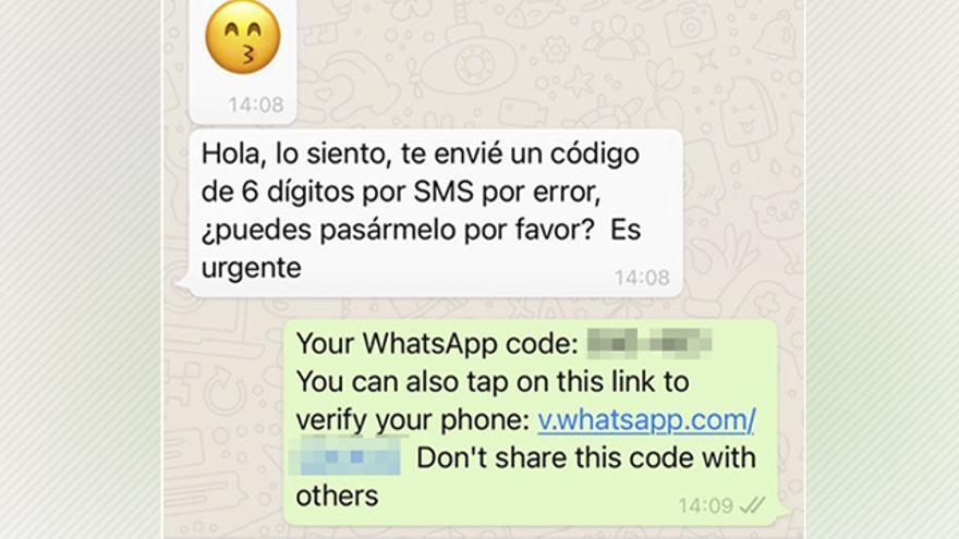 Se intensifica la oleada de ataques en WhatsApp que utilizan a un contacto cercano para el robo de cuentas