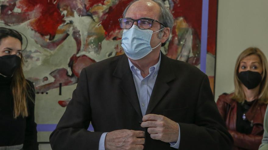 El candidato socialista a las elecciones autonómicas madrileñas, Ángel Gabilondo
