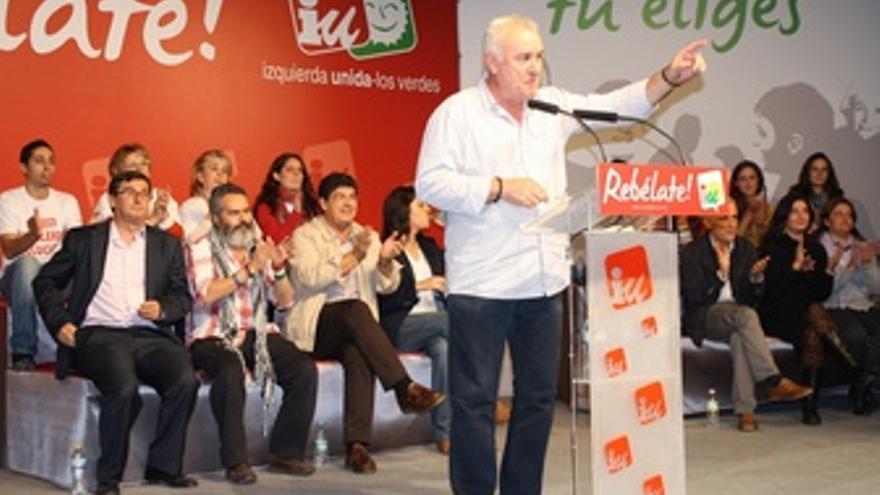 Cayo Lara En Sevilla.