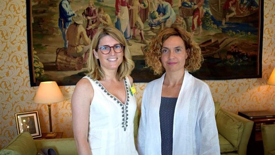 Batet y Artadi se reúnen en Madrid para abordar temas sectoriales