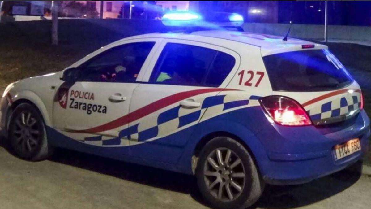 Coche Policía Local de Zaragoza.