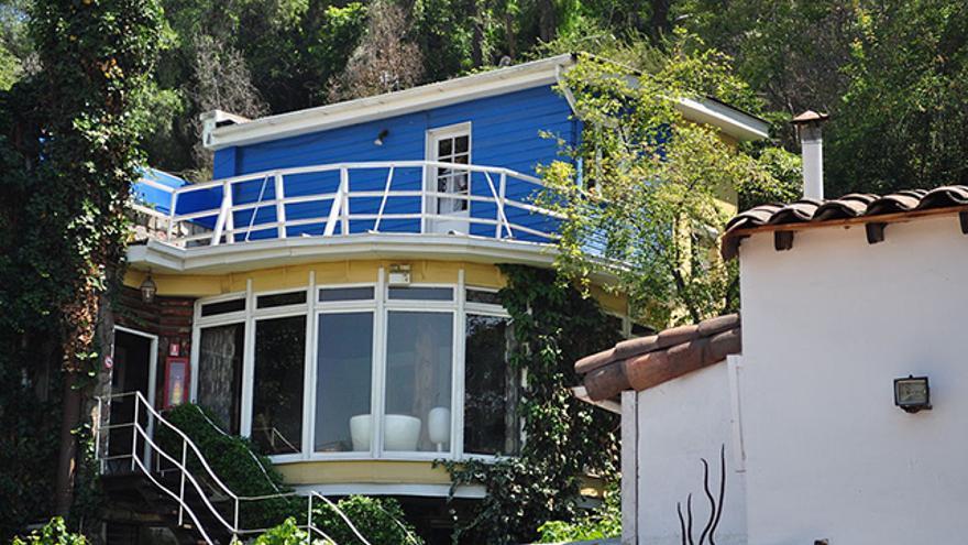 Casa de La Chascona de Pablo Neruda en Santiago de Chile
