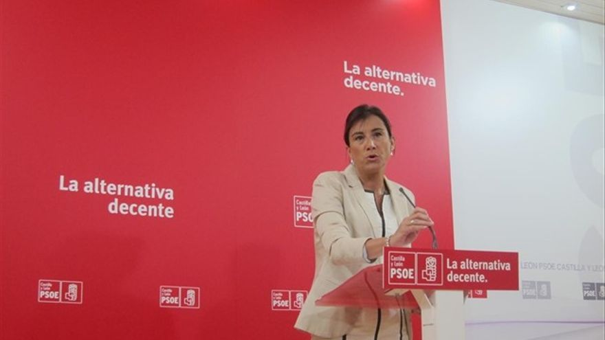La procuradora zamorana Ana Sánchez