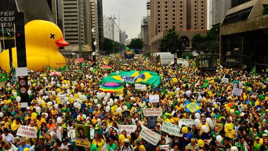 Manifestacion Sao Paulo