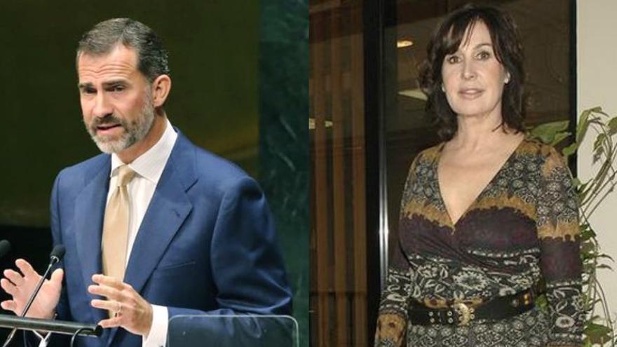 Felipe VI y Carmen Martínez-Bordiu
