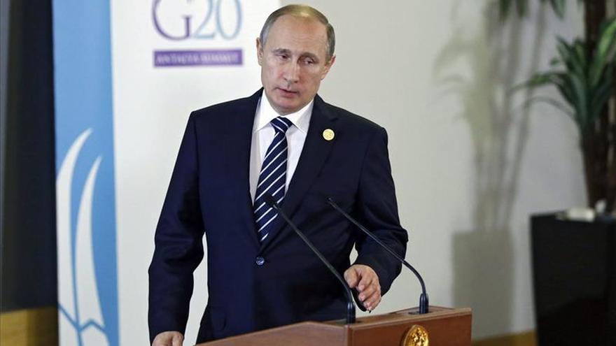Putin: varios países del G20 financian al Estado Islámico