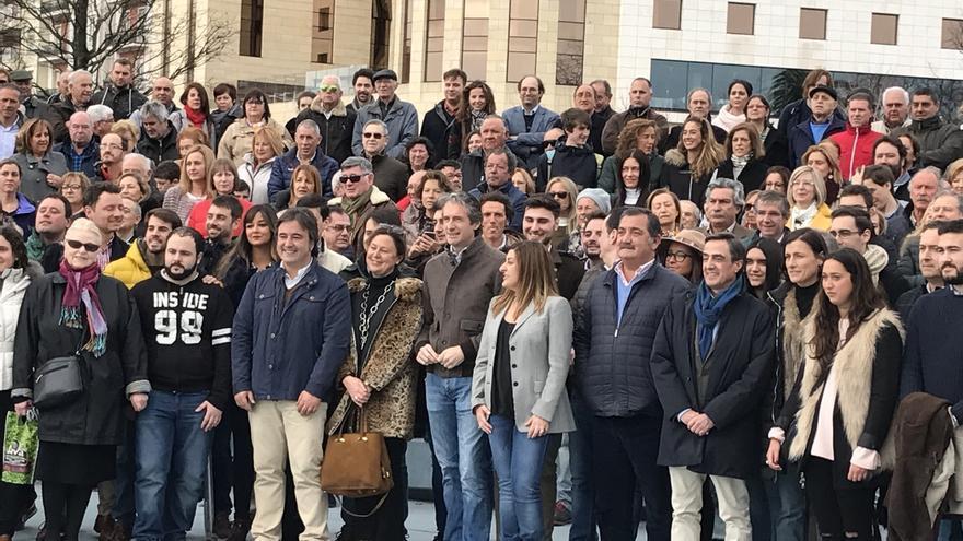 """De la Serna apoya el proyecto de """"cambio y renovación"""" de Buruaga para cambiar la """"inercia"""" actual del PP de Cantabria"""