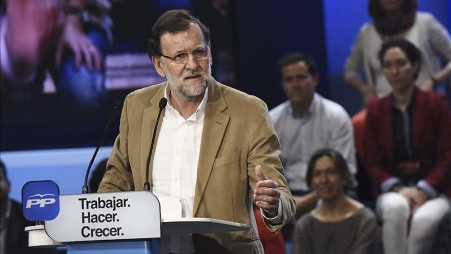 Rajoy protagonizará dos actos de la campaña electoral del PP en Madrid