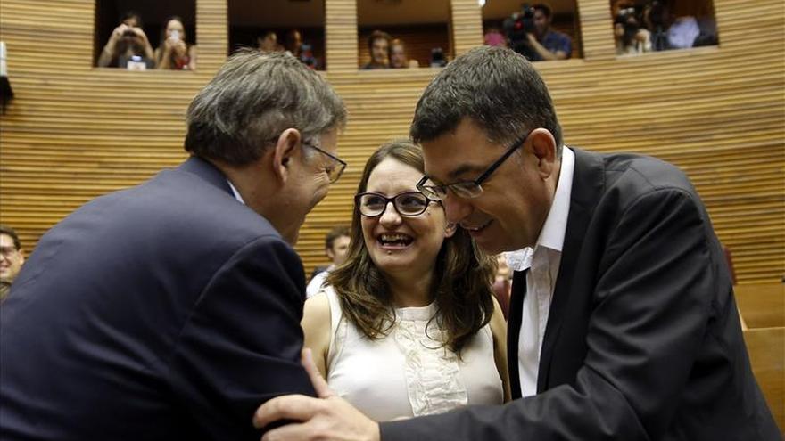 Puig (PSPV) anuncia la reanudación de las negociaciones para la Generalitat