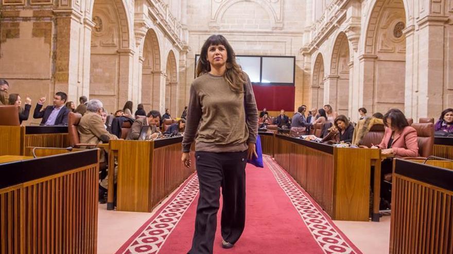 Podemos en la Comunidad Valenciana manifiesta su apoyo a Teresa Rodríguez