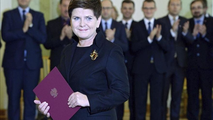 El presidente polaco designa a Beata Szydlo como primera ministra de Polonia