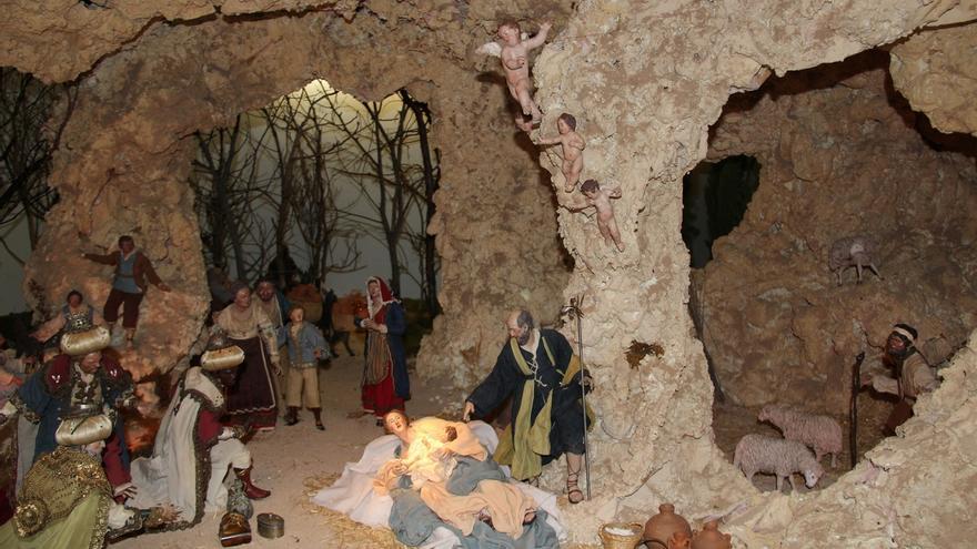 El Museo Carmen Thyssen de Málaga celebra la Navidad con conciertos y su tradicional belén napolitano