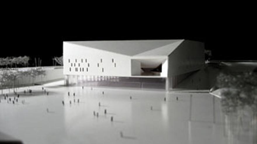 Proyecto original del Palacio Multiusos de Gran Canaria.