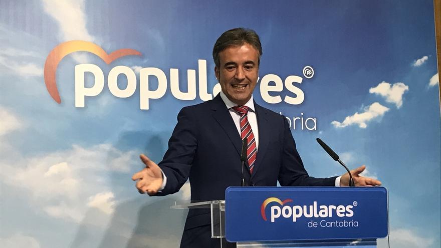 """El PP se compromete a retomar de """"forma inmediata"""" el plan de mejora de cercanías para Cantabria"""