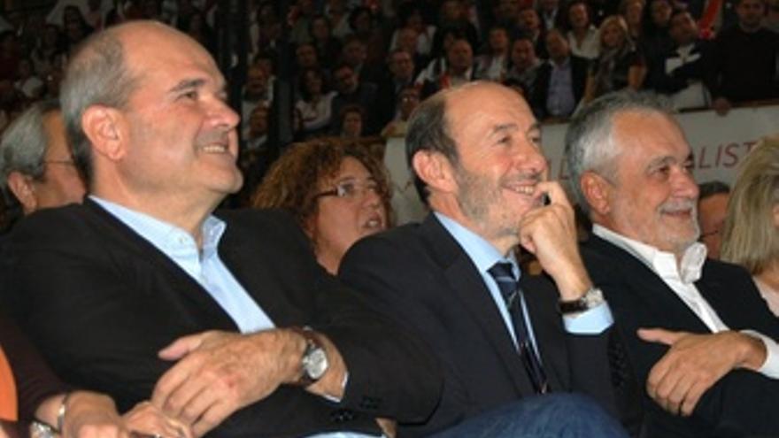 Chaves, Rubalcaba Y Griñán.