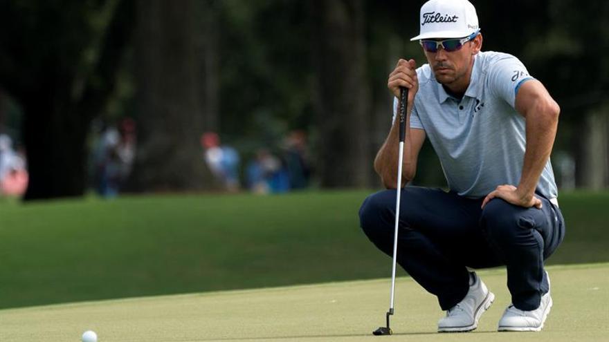 Rafael Cabrera Bello durante la primera ronda de la 99ª edición del Campeonato de la PGA