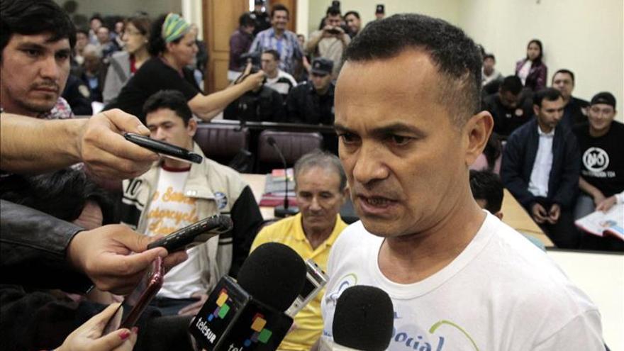Condenan a 7 años de cárcel por coacción a único preso de la masacre de Curuguaty