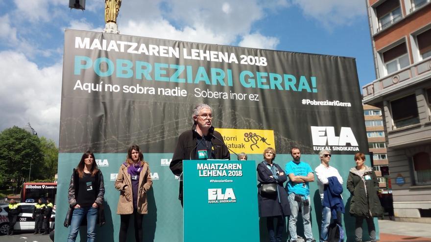 """ELA denuncia el """"autoritario liderazgo"""" de Urkullu """"al servicio de una patronal que siempre quiere más"""""""