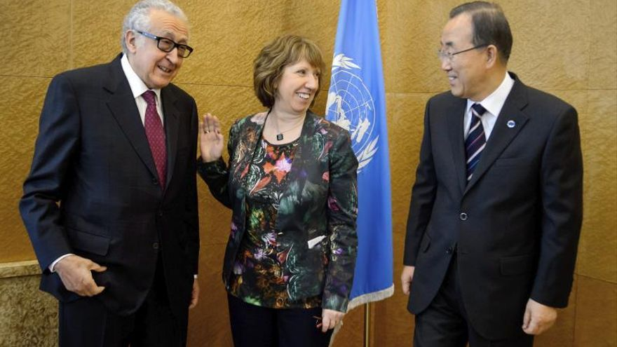 Se abre el proceso de negociaciones de paz para detener la guerra en Siria