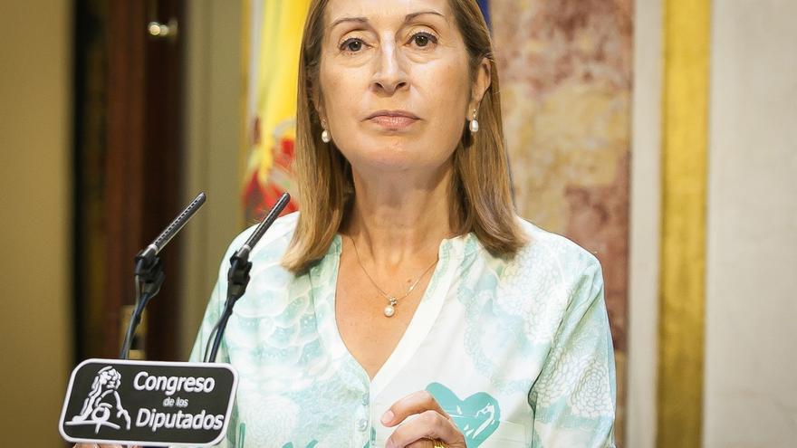 Pastor evita poner fecha al Pleno que pide toda la oposición para que Guindos explique el 'caso Soria'